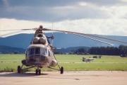 1992 - Mi 8, na stojánce, letiště Planá u ČB