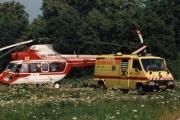 1997 - PLZ Kania, na heliportu nemocnice ČB