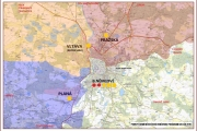 Plán pokrytí města ČB výjezovými základnami ZZS