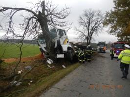Dopravní nehoda NA, Turovec - 3. 11. 2014 (3)