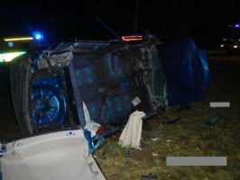 Dopravní nehoda OA, Veselka - 27. 11. 2014 (2)