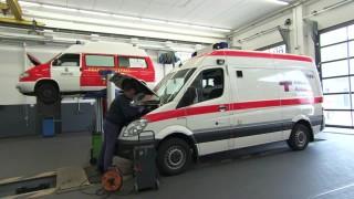 car repair ambulance