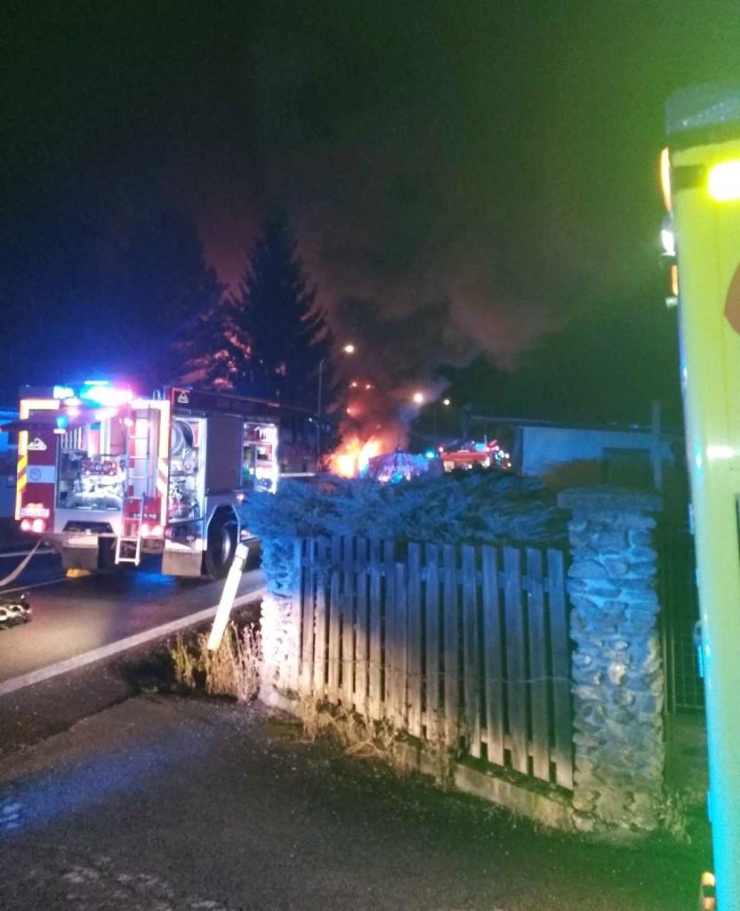 požár v Lenoře