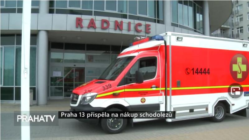 Screenshot_2021-05-06 Praha 13 přispěla na nákup schodolezů PRAHA 13 Zprávy PRAHA TV
